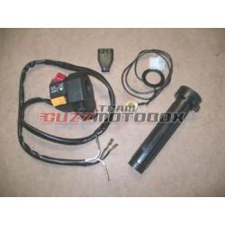 Puño gas para Moto Guzzi LMII, LMIII, T3, 1000 SP, V35