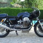 "Moto Guzzi Cafe Racer ""Black to Black"""