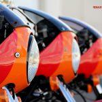 El tridente de Guzzi Motobox