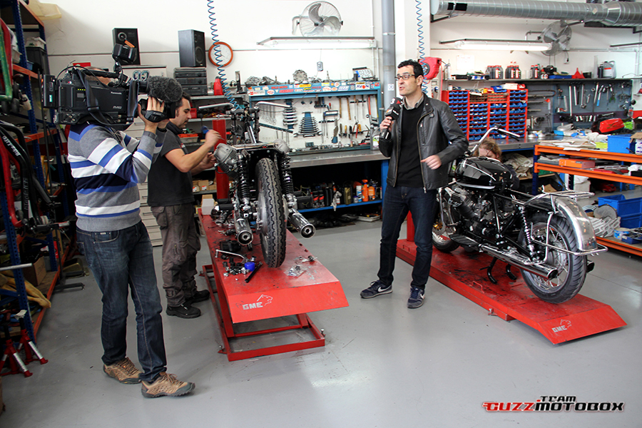Noticia de Guzzi Motobox en TV3